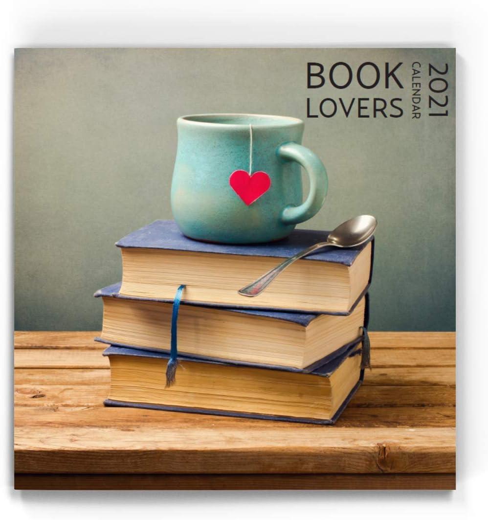 Booklovers Wall Calendar 2021, 12 x 12 inch, Calendar Gift for Book lover
