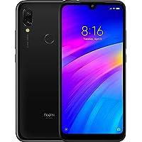 Xiaomi Redmi 7 32 GB + 3 GB RAM 6.26 Pulgadas HD + LTE Desbloqueado de fábrica GMS Smartphone (versión Global), Negro (Eclipse Black)