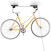 Relaxdays 2 Bicycle Holders Set Wall-Mount Bike Wall Storage Tyre Holder Garage