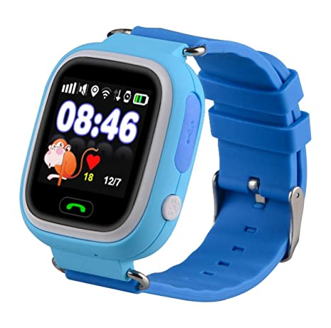 TechComm Q90 Kids GPS Smart Watch Fitness Tracker Call & Text