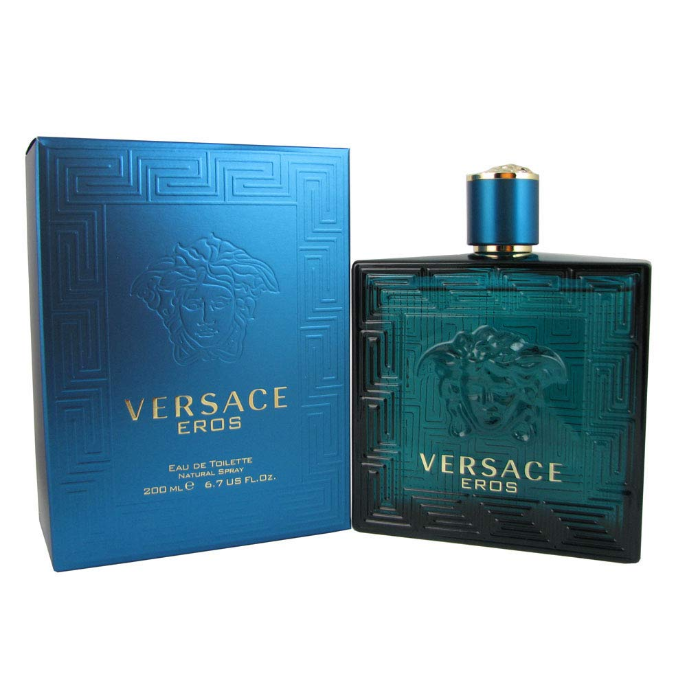 Versace Eros By Versace Edt Spray For Men 6.7 oz