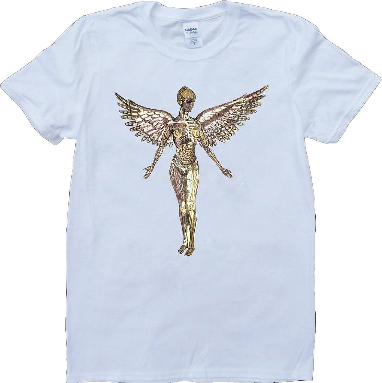 Nirvana In Utero Short Sleeve Crew Neck Custom Made T-Shirt
