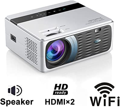 GJZhuan HD 1080P Proyector, Smart Wireless WiFi HDMI Dual Portátil de Cine en Casa 200ANSI Lúmenes Android 1280 × 720 Multi-Pantalla de Video Proyectores LED Home Media Player (Size : WiFi): Amazon.es: Electrónica