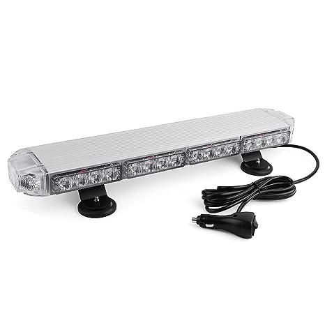 Mini Led Light Bar >> Emergency Mini Led Light Bar Yitamotor 21 3 Watt Low Profile Magnetic Roof Mount Strobe Light Bar For All 12v Emergency Vehicle