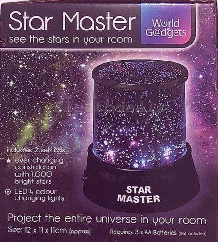 Star Master - Proyector de luz nocturna LED para niños o ...