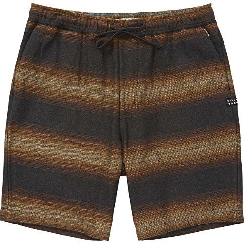 Billabong Men's Larry Layback Baja Shorts Black Large
