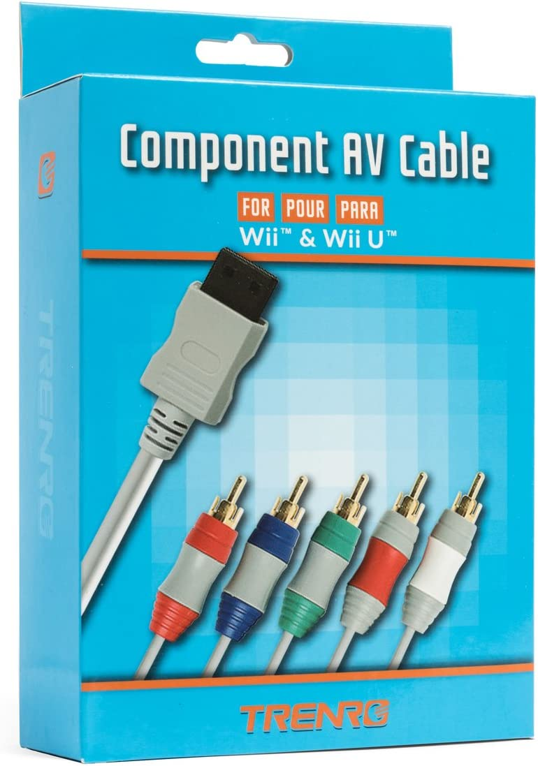 Amazon.com: Component AV Cable for Nintendo Wii to HDTV: Video Games