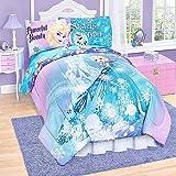 Disney Frozen Elsa 6 Piece Twin Reversible Comforter Set