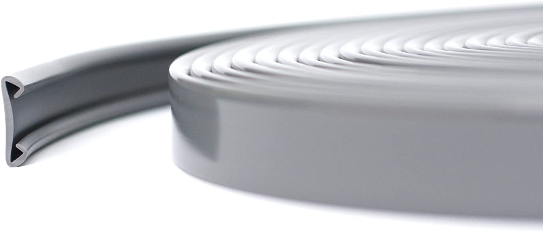 40/x 20/mm rectangulaire inox Rampe descalier gris