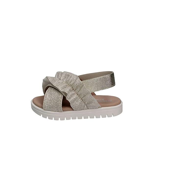 63dd59c4b3514 Florens W088740D Platino Sandales Enfant  Amazon.fr  Chaussures et Sacs