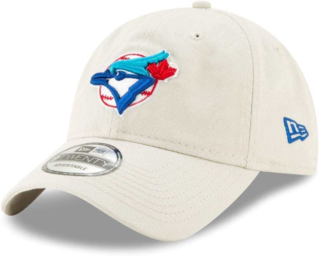 New Era トロント ブルージェイズ MLB クーパーズタウン コア クラシック ストーン 調節可能な帽子