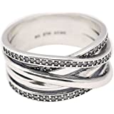 925 Sterling Silver Entwine Ring