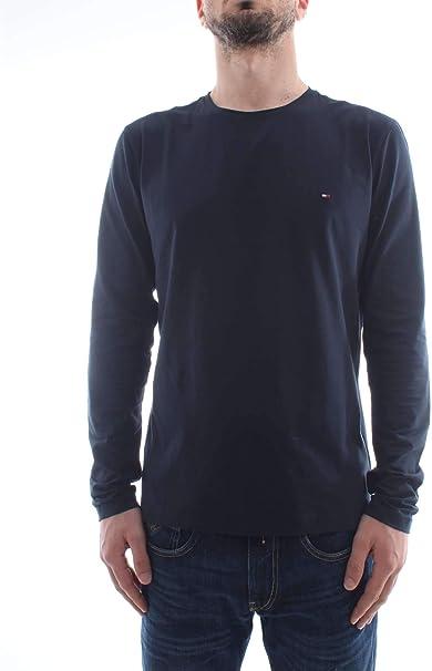 Tommy Hilfiger Stretch Slim Fit Long Sleeve Camisa Manga Larga ...