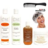 Etae Carmelux Shampoo Conditioner E'tae Carmel Treatment Buttershine Natural Products Ultimate Bundle Combo Kit