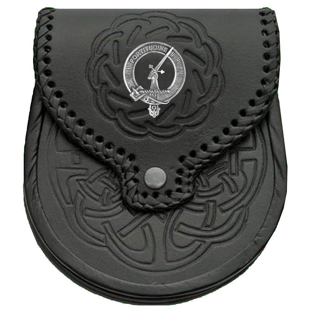 MacRae Scottish Clan Crest Badge Sporran