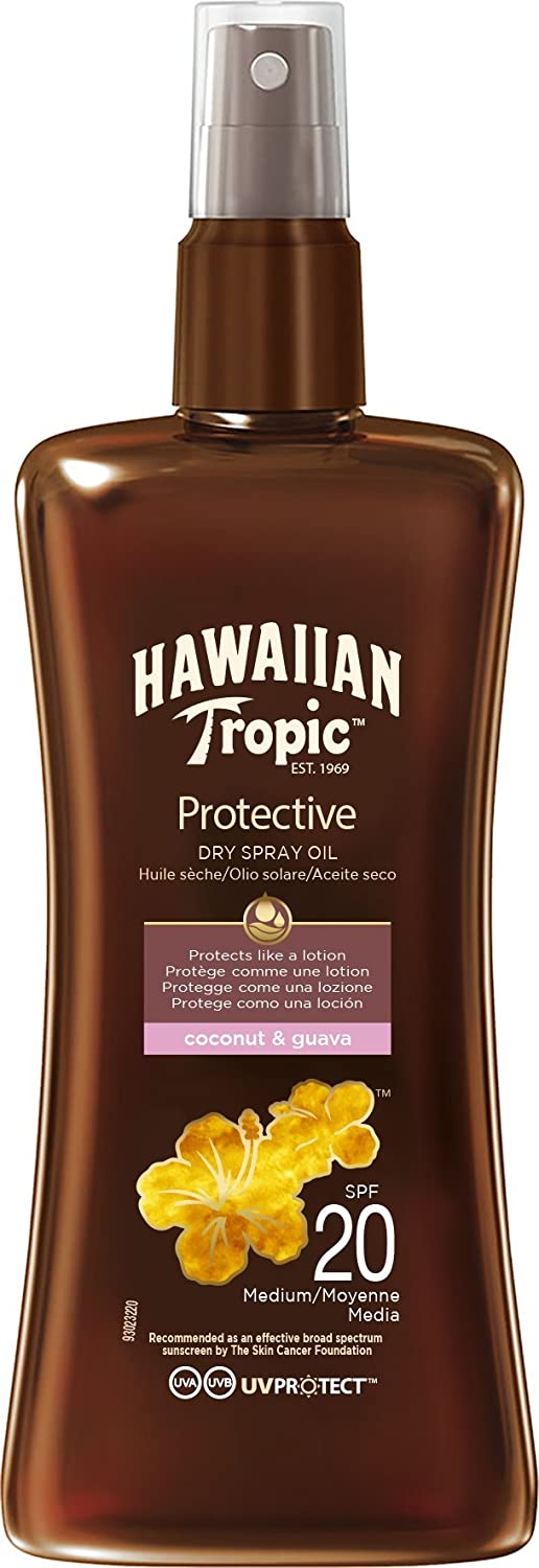 Hawaiian Tropic Aceite Spray SPF8-200 ml Edgewell Y00524F0