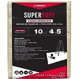 Trimaco SuperTuff 10 oz thick Heavyweight Canvas Drop Cloth, 4-feet x 5-feet