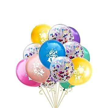 Folat Metallic Konfetti Streu Tisch Dekoration Luft Ballons