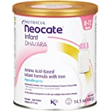 Neocate Infant Formula with DHA/ARA, 14.1 oz (Pack of 4)