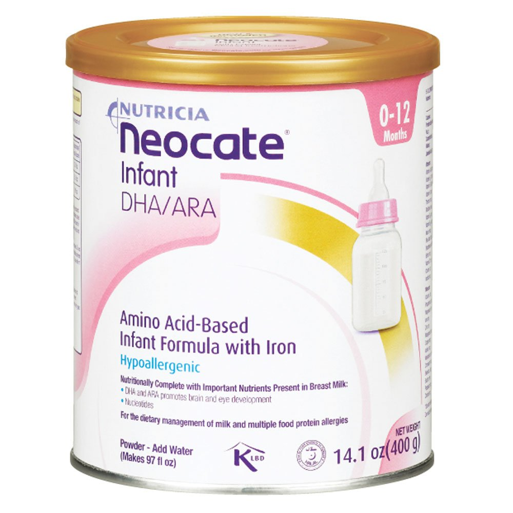 Neocate Infant with DHA and ARA, 14.1 oz / 400 g (1 can) by Neocate