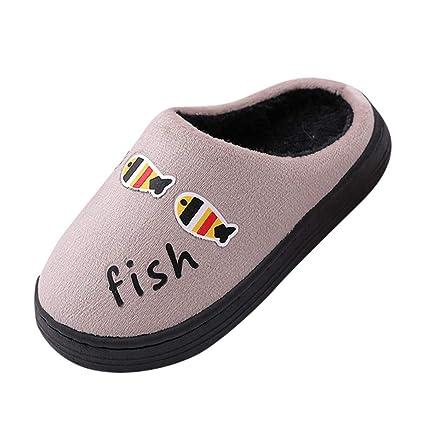 Amazon.com: Shan-S - Zapatillas para el hogar, de invierno ...
