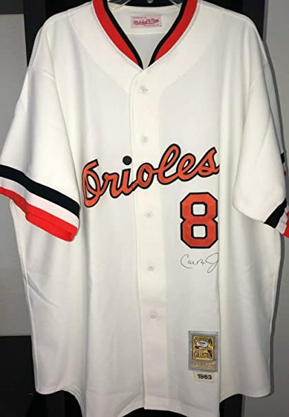 684503ebc Image Unavailable. Image not available for. Color: Cal Ripken Jr  Autographed Signed Memorabilia PSA/DNA Dna 1983 Mvp Mitchell Ness MN Jersey