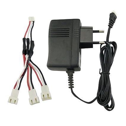 Cargador de Batería Lipo + 3 en 1 Cable de Carga para RC Drone ...