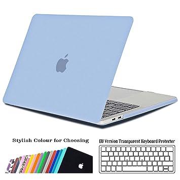 iNeseon Funda para MacBook Pro 13 2018/2017/2016, Delgado Carcasa Case Duro y Cubierta del Teclado para Apple MacBook Pro 13.3 Pulgadas con/sin ...