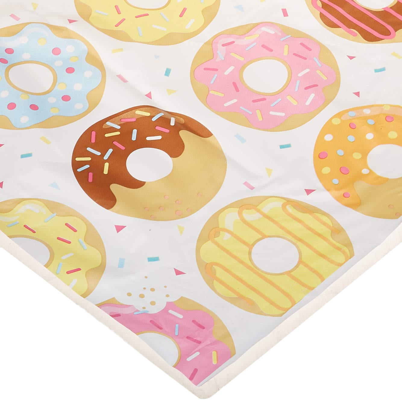 Creative Converting Donut Time Plastic Tablecover (Pack of 3) by Creative Converting