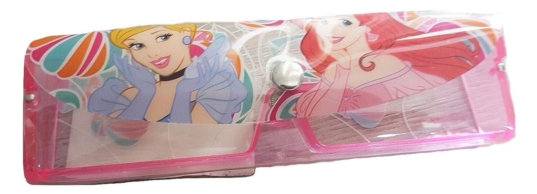 PICCOLI MONELLI Custodia Porta Occhiali Bambina di Sirenetta in plastica Rigida 15 x 4 cm