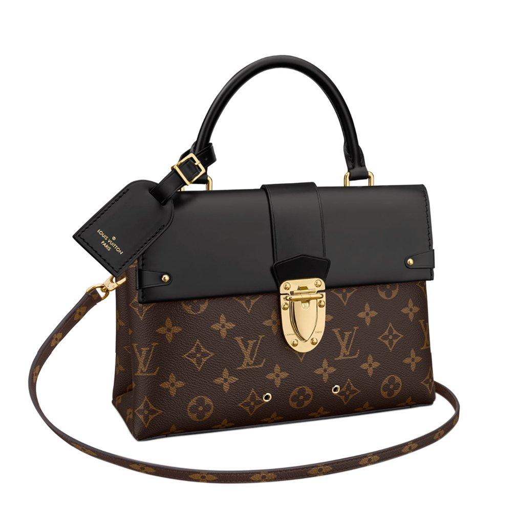 828f006d11f Louis Vuitton Monogram Canvas One Handle Flap Bag MM Handbag Article ...