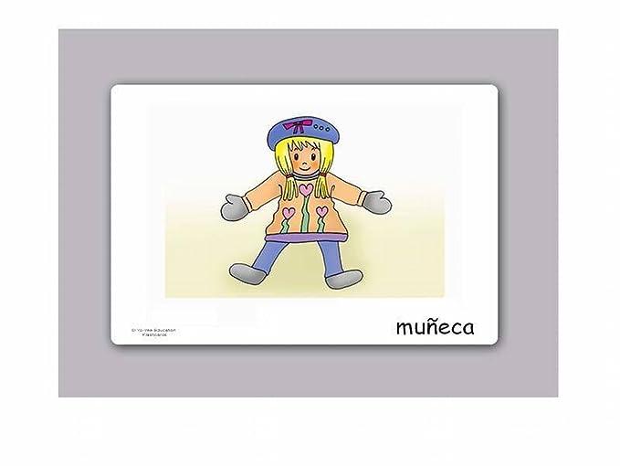 Amazon.com: Tarjetas de vocabulario - Juguetes - Toy Flashcards in Spanish: Toys & Games