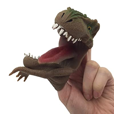 Streamline Dinosaur Finger Puppets, Set of 2: Toys & Games