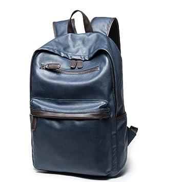 BAAFG Backpack Mens Travel Casual Waterproof Student Bag Lady,Blueb