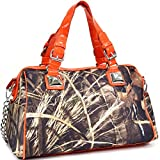 Realtree Max-4 Camouflage Satchel Shoulder Bag Handbag with Bonus Strap
