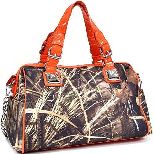 Camouflage Womens Handbag (Realtree Max-4 Camouflage Satchel Shoulder Bag Handbag with Bonus Strap)