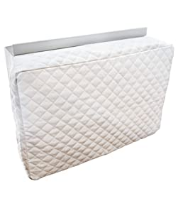 Sturdy Covers Indoor AC Cover Defender - Insulated Indoor Air Conditioner Unit Cover (White, 17 x 25 x 4)