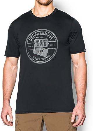 Cereal Cena chupar  Under Armour WWP Perro Etiqueta del Hombre T-Shirt - 1271864, Negro:  Amazon.es: Deportes y aire libre
