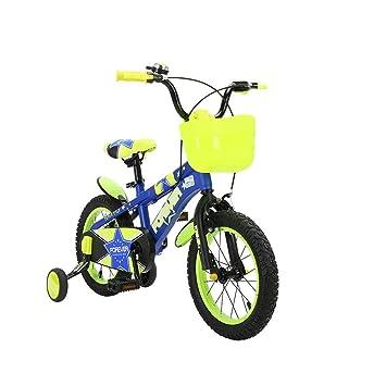 DT Bicicleta Amarilla para niños 2-3-4-6-7-8-9-10 años Bebé 12 Pulgadas Bicicleta Niño Niño Chica Bicicleta Carro de bebé: Amazon.es: Hogar