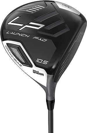 Wilson Staff Launch Pad Golf Driver - Men's Right Hand, 10.5, Regular Flex, Steel