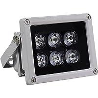 AUTENS Infrared Illuminator 90° Wide Angle Night Vision Waterproof LED IR Infrared Light for 850nm IP Camera CCTV…