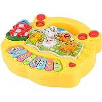 Musical Piano Toy Animal Farm Educational Learning Instrumentos Divertidos para Bebés y Niños Pequeños Socialme-EU…