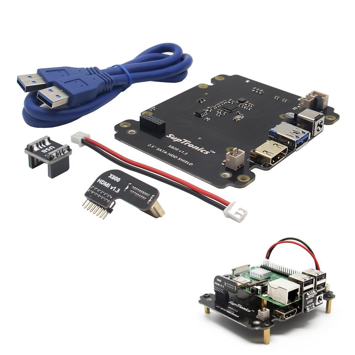 Ils - X820 2.5 Pulgadas SATA HDD/SSD Tarjeta de Expansió de ...