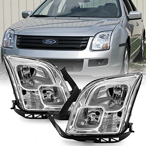 (ACANII - For 2006 2007 2008 2009 Ford Fusion Headlights [Factory Style] Headlamps Replacement Driver + Passenger)