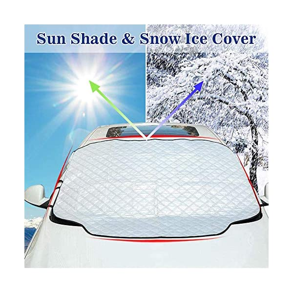 Autocare Car Windscreen Frost Cover Protector Saves Time-No More De-Icing