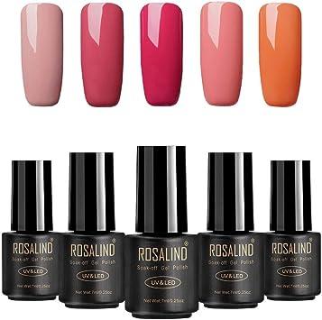 ROSALIND color nude UV esmalte en gel para uñas semi-permanente ...
