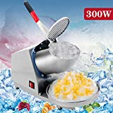 New MTN-G 143LBS Electric Ice Crusher Shaver Machine Snow Cone Maker Shaved Ice 300W