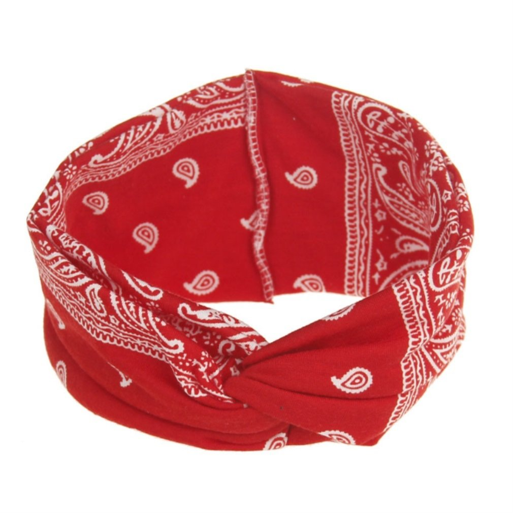 Bandeaux Bandeau de bandeau de yoga extensible pour les femmes pour filles Taille : 10cm) QHDZ