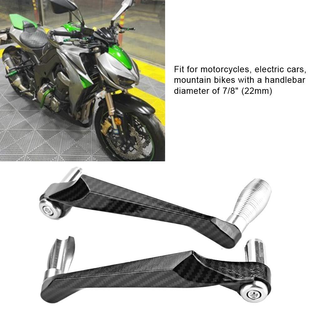 8in 22 mm CNC Manillar de Palanca de embrague de freno Protector de mano para motocicleta dorado KIMISS Protector de la palanca del embrague de freno,Universal 7 autom/óviles el/éctricos
