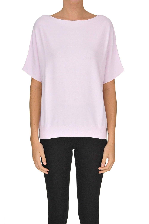 Base Milano Women's MCGLMGP000005085E Pink Viscose Sweater
